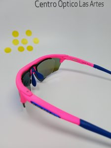 graduar una gafa de ciclismo