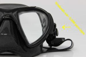 Ventajas de graduar una máscara de buceo