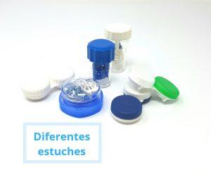 Como limpiar el estuche de las lentillas
