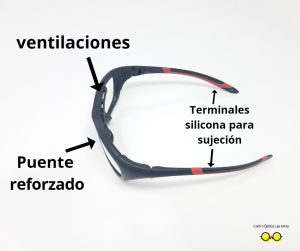 Gafas para fútbol