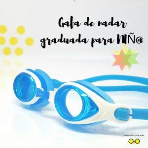 Gafas de nadar graduadas para niños