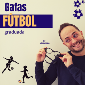 Gafas para fútbol graduadas