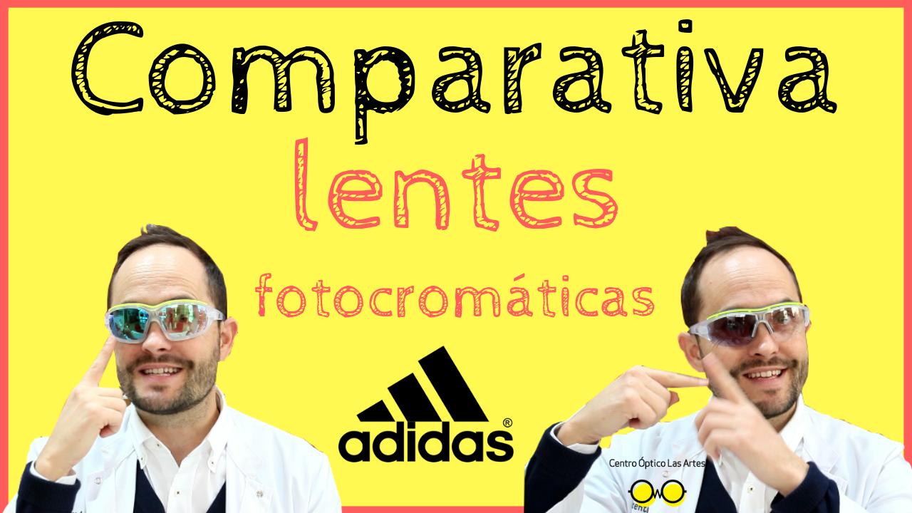 Gafas de ciclismo fotocromáticas  Comparativa entre diferentes lentes fotocromáticas