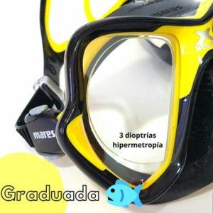 Gafas deportivas graduadas submarinismo