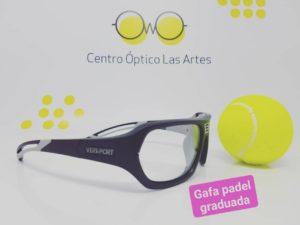 Gafas deportivas graduadas pádel