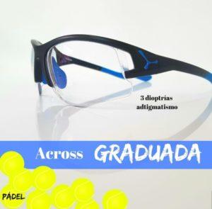 Gafas deportivas graduadas de padel