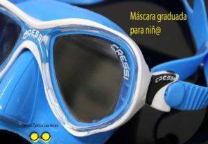 gafas deportivas graduadas personas albinas