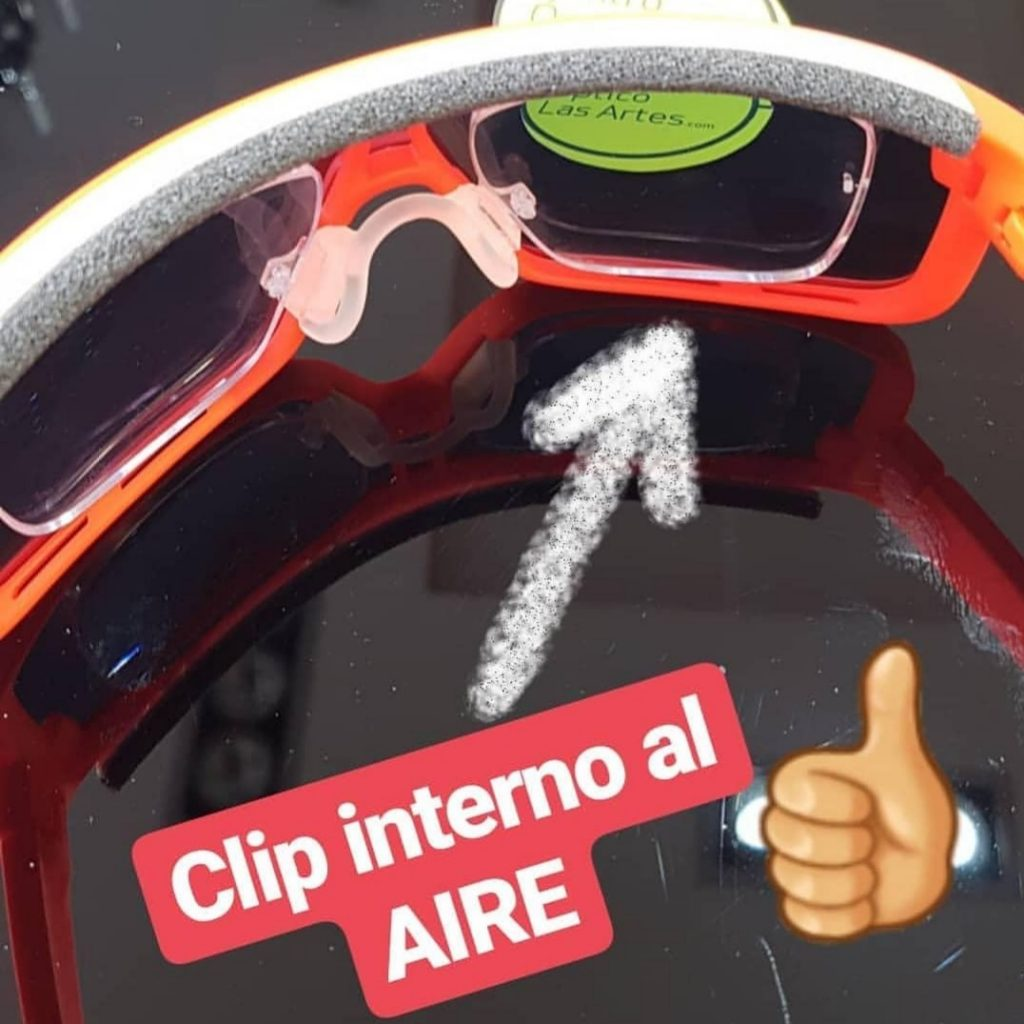 gafas de ciclismo con clip