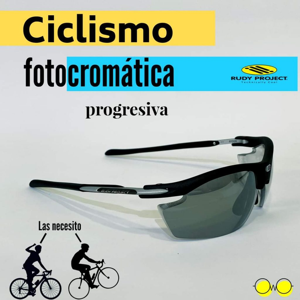 Gafas de ciclismo graduadas ftocromaticas