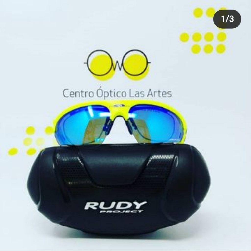 gafas rudy project graduadas con clip optico