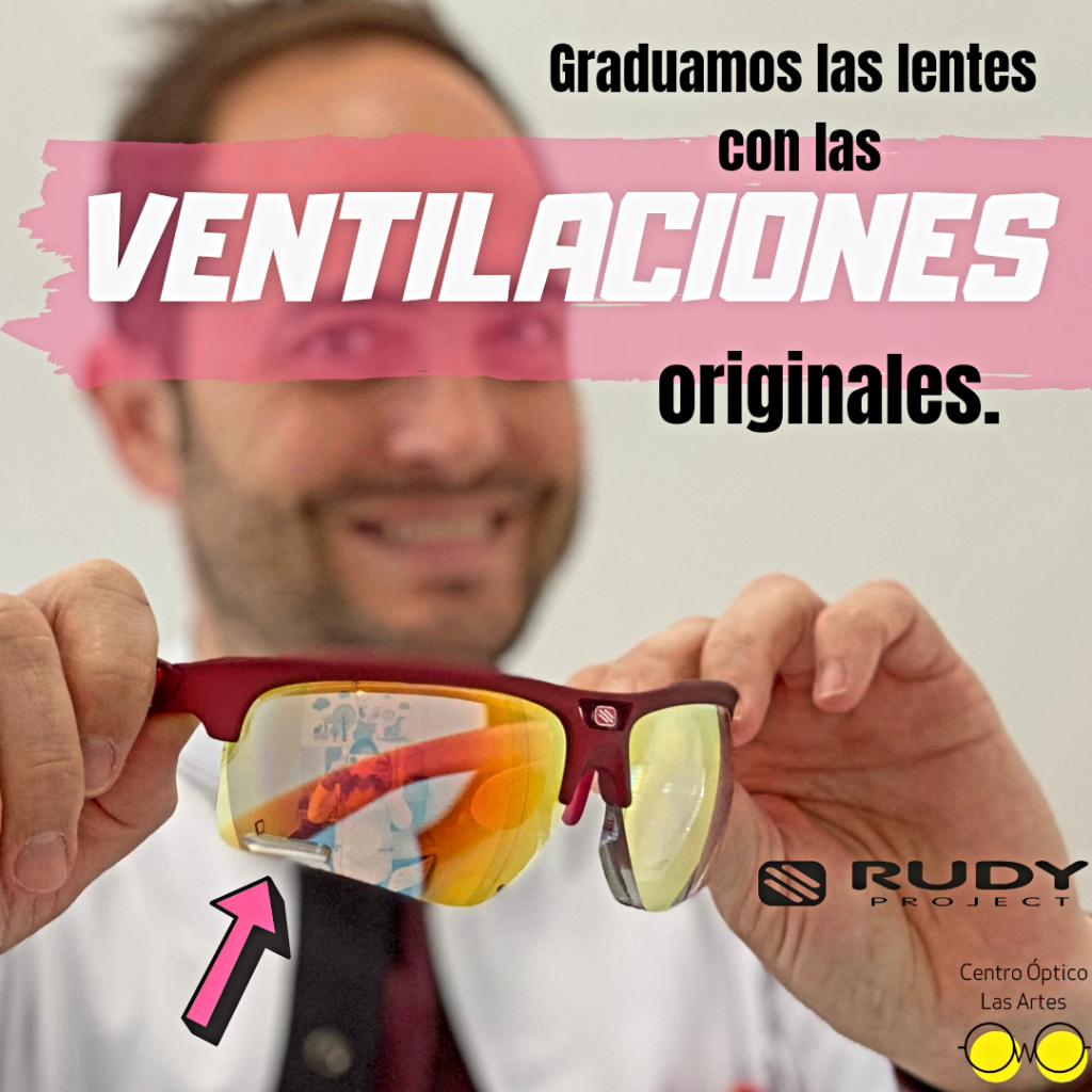 gafas rudy project graudadas