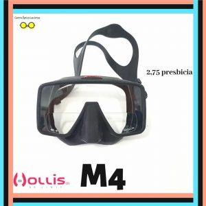 máscara hollis m4 graduada