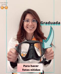 mascara graduada fotosub
