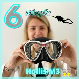 mascara hollis m3 graduada