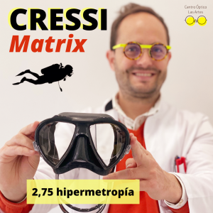cressi matrix graduada hipermetropia