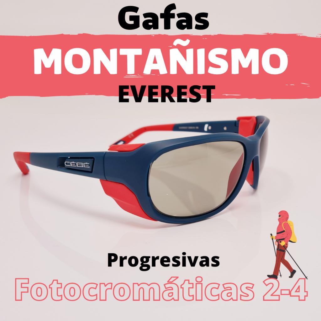 gafas de montañismo graduadas progresivas