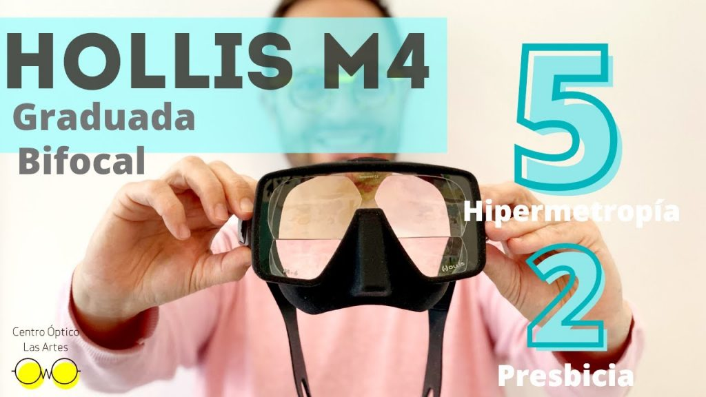 mascara hollis m4 graduada