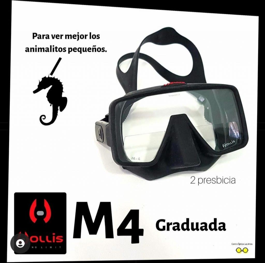 hollis m4 graduada presbicia