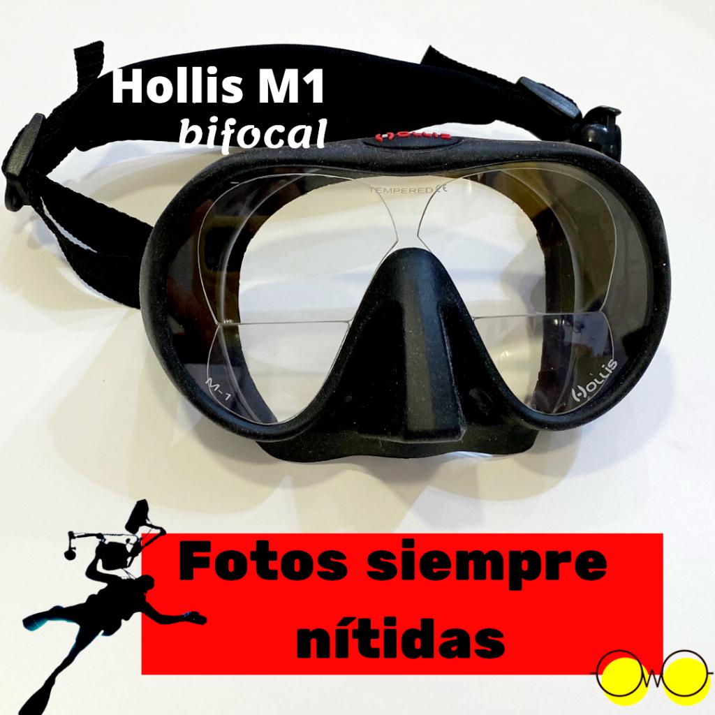 Máscaras Hollis hollis m1 graduada bifocal
